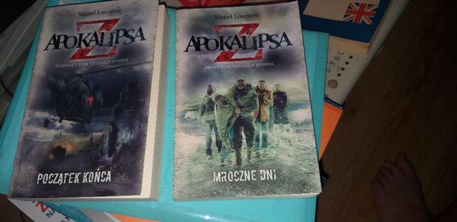 Książka Apokalipsa Z - Manel Louriero I i II część