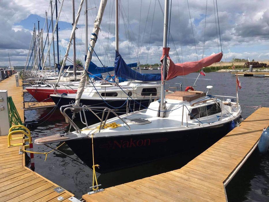 Jacht balastowy Nefryt 7,40 + Yamaha 4t 8km Manetka Goleniów - image 1