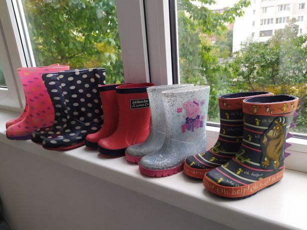 Резиновые сапоги, гумові чоботи