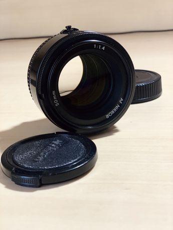 Nikon 50mm f1.4 хороший стан