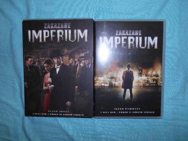 Zakazane Imperium DVD serial Sezon 1+2