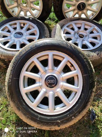 Felgi koła Audi 195/60/15 R15 oryginał 5 szt. Okazja 4x108