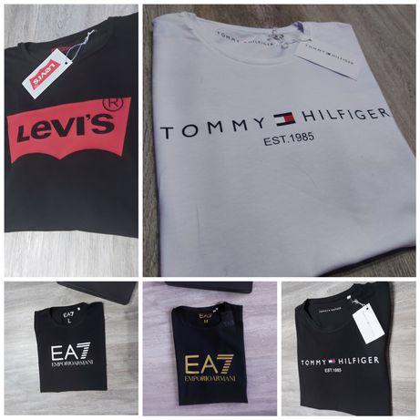 Męskie koszulki Tommy Hilfiger jakość Premium