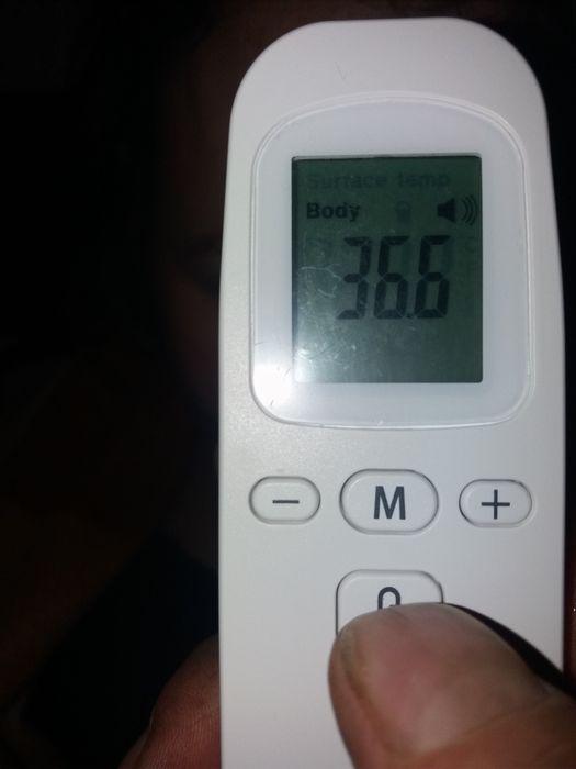 Безконтактний ( інфрачервоний) термометр та пульсометр. Львов - изображение 1