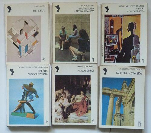 Książki o sztuce z serii Nefretiti