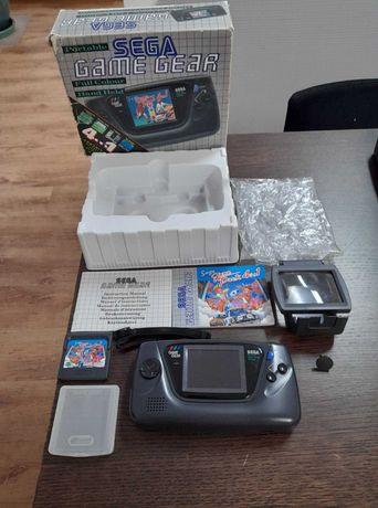 Sega Game Gear em caixa + lupa