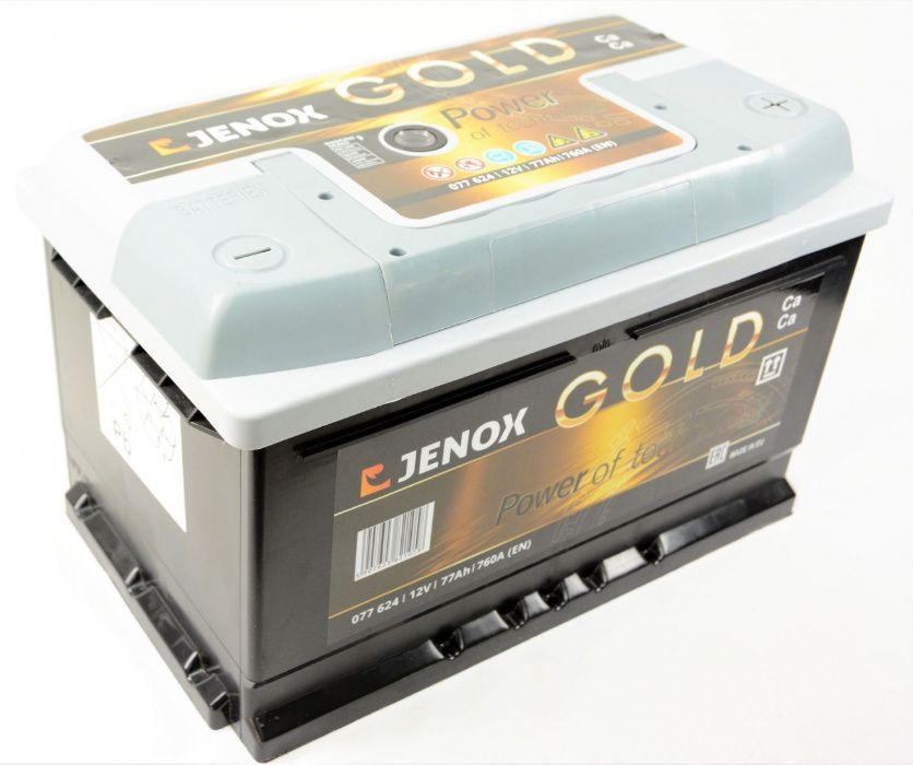 Akumulator JENOX GOLD 77Ah 770A Jaslo Jasło - image 1