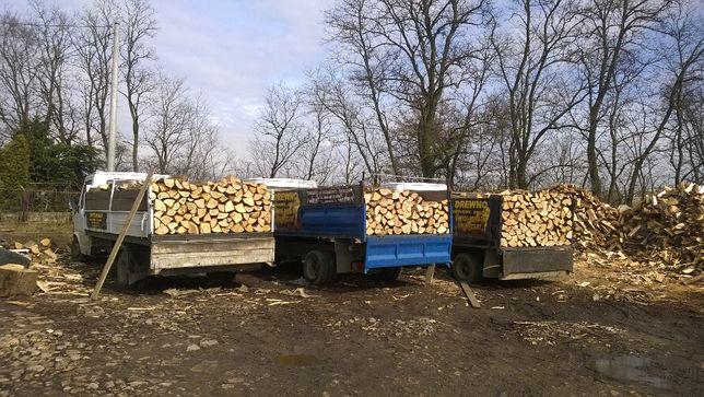 Drewno suche sezonowane kominkowe i opałowe Niepołomice Wieliczka Boch