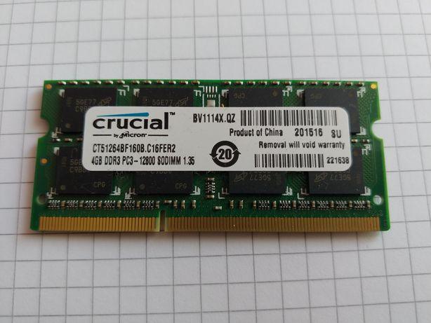 Pamieć RAM do laptopa 4GB DDR3 SODIMM