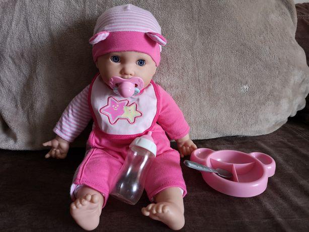 Interaktywna lalka z zestawem do karmienia Elefun + druga lalka gratis