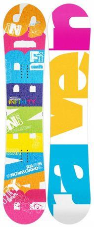 Wyprzedaż Deska snowboardowa Raven Infinity 154 cm Promocja !!!