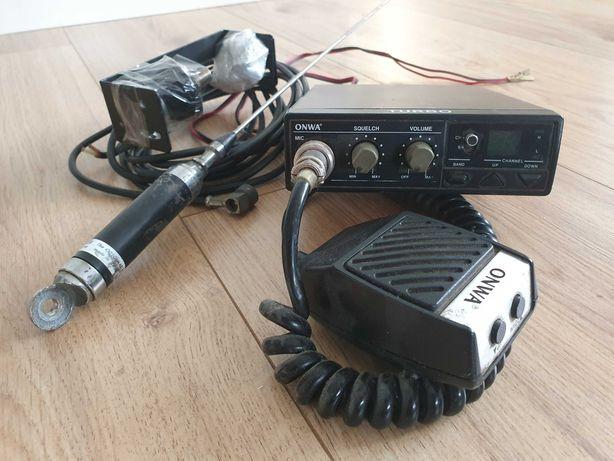 CB radio ONWA + antena