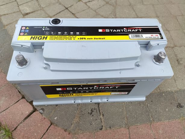 Akumulator samochodowy Startcraft, 12V 100Ah, 850A