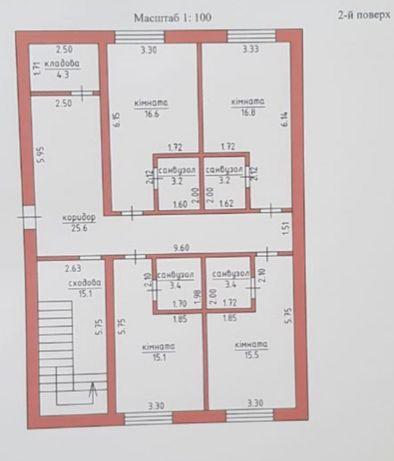 ОРЕНДА!!! Фасадне комерційне приміщення, площею 122,2 кв.м.