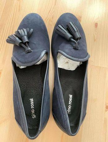Skórzane buty Gino Rossi