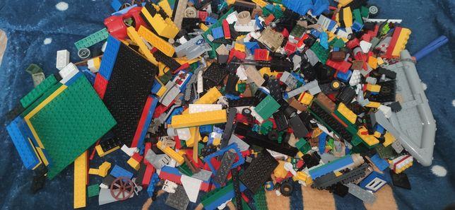 Lego mix + statek wojenny zestaw