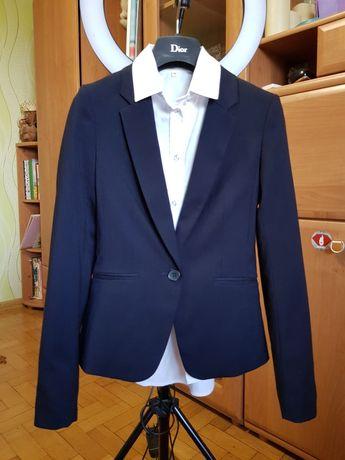 Пиджак H&M, юбка, рубашки школьные 11-13 лет