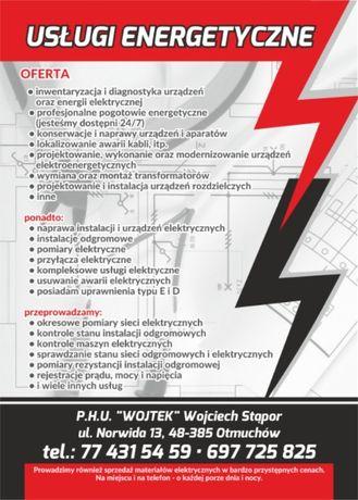 Usługi Elektryczne/ Energetyczne