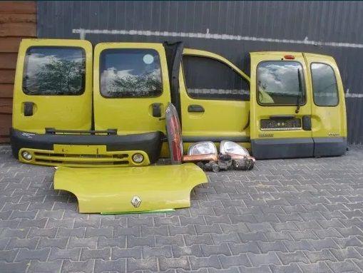 Дверь Renault Kangoo Кузов рено кенго дверка передня дверка задня