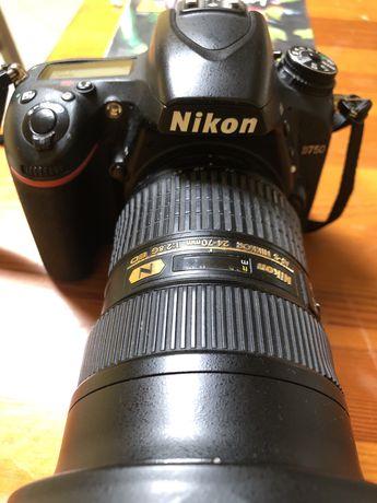 Nikon d750 + nikkor 24-70 f2.8