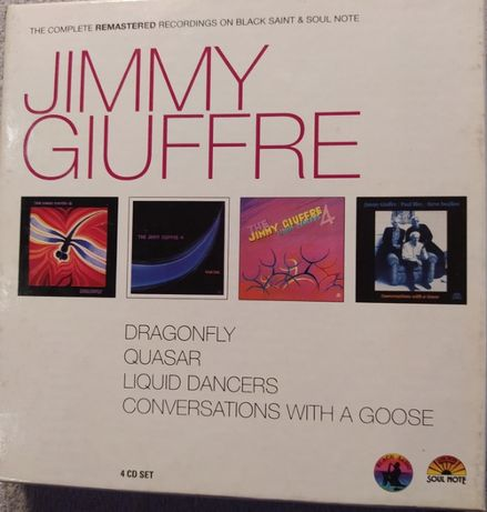 Box 4xCD Jimmy Giuffre