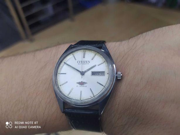 Zegarek automatyczny automat CITIZEN !! 21 RUBIN japan seiko Nowy pas.