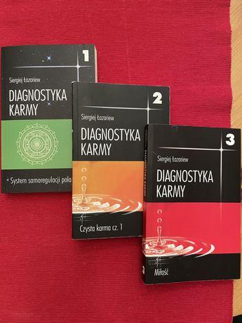 Łazariew S., Diagnostyka karmy t. 1, 2, 3