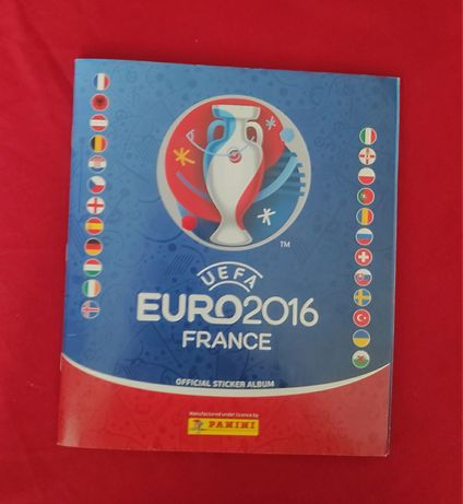 Caderneta cromos Euro 2016