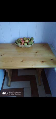 Stół kuchenny (sosna) + krzesła
