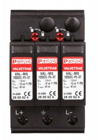 Ogranicznik przepięć 1000V DC T2
