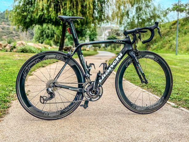 Oportunidade - Bicicleta Bianchi topo de gama