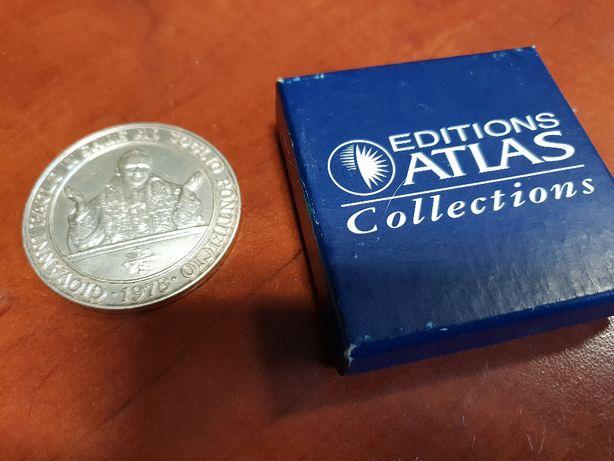 Srebrny medal Jan Paweł II - dla kolekcjonera