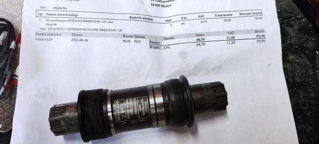 Suport Shimano BB ES 300 68 / 121 1.37x24 nowy