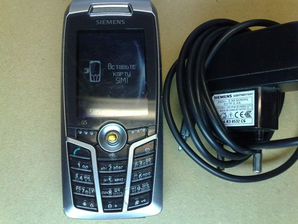 Телефон-легенда Siemens S65