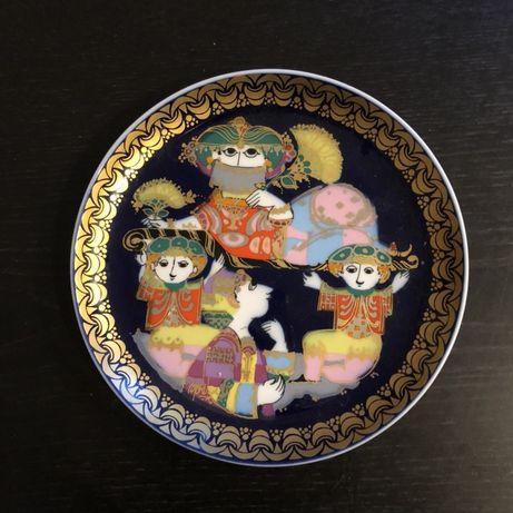 Декоративная тарелка Rosenthal из коллекции «Алладин и волшебная лампа
