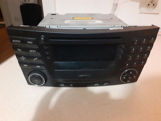 Radio Mercedes W211 Cd navigacja zamiana na radio cd Vito Sprinter II