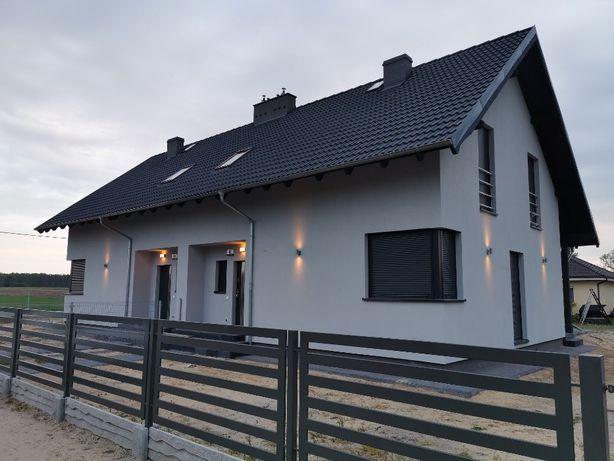 Nowy dom jednorodzinny dwulokalowy Osiniec/Gn