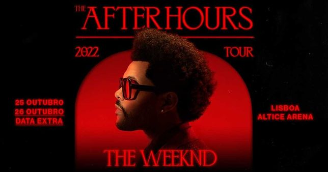 The Weeknd - The After Hours TOUR (26 out)