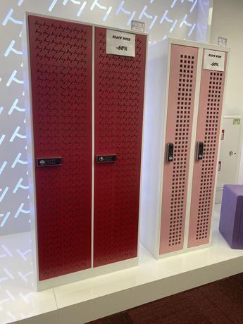 Metalkas szafy metalowe bhp kolorowe dla 4 pracowników promocja MSU