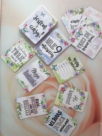 Karty do zdjęć Paper Smile MOJE 9 MIESIĘCY CIĄŻA