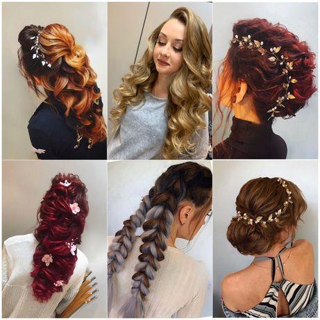 Макияж , Прически , Обучение , Полировка волос