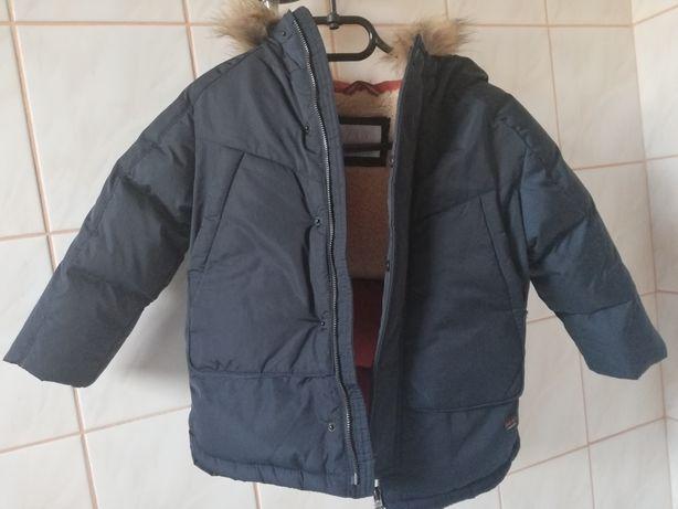 Zara kurtka zimowa rozm 110