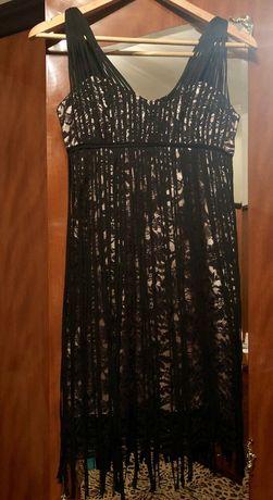 Очень красивое и нарядное платье XS-S.не просвечивается!