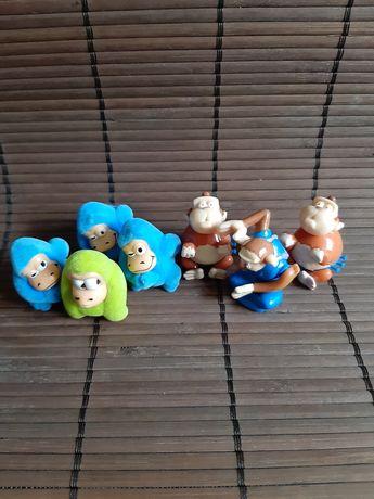 Figurki małpki kinder niespodzianka