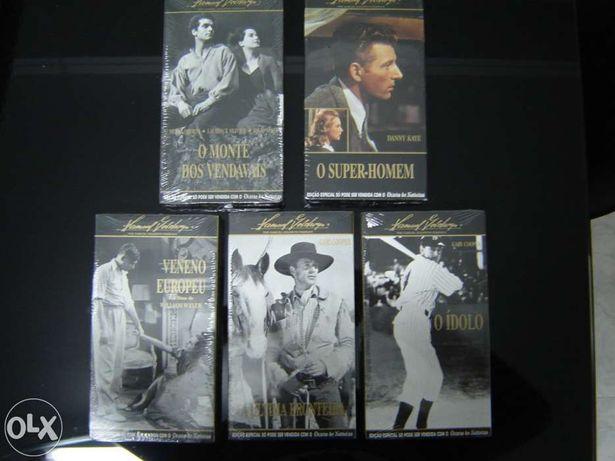 Cassetes VHS de filmes antigos