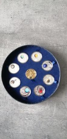 Systema Solare Układ Słoneczny kolekcja numizmatów monet
