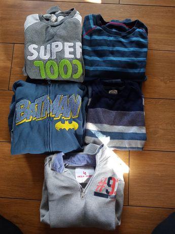 Zestaw bluz i swetrów 158-164