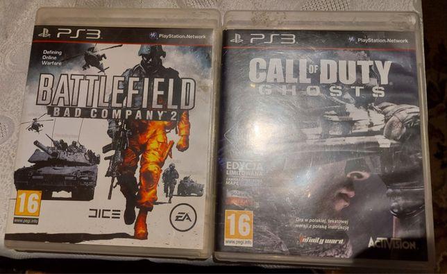 Zamienie lub sprzedam Battelefield 2 . Call of duty ghosts PS3
