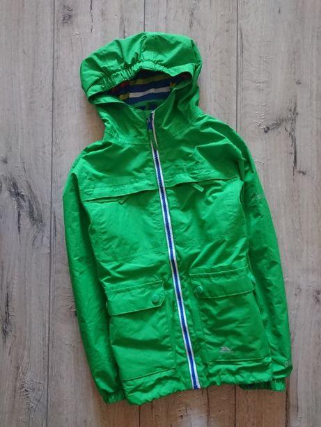 Курточка куртка удлиненная ветровка дождевик Trespass 7-8 лет 122-128