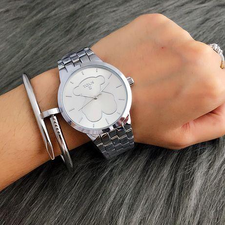 Nowe zegarki Tous srebrne